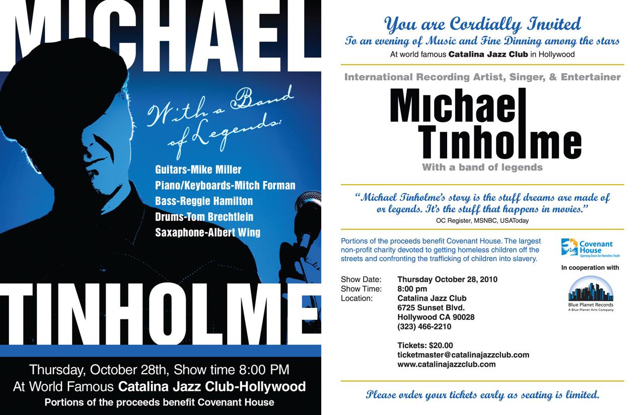 Michael Tinholme Invite
